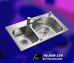 One PC Process Stainless Steel Sink (AGB-128)