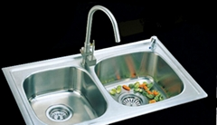 One PC Process Stainless Steel Sink (ASB-808)