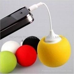 promotion promotional gift mini balloon speaker for mp3 ipod