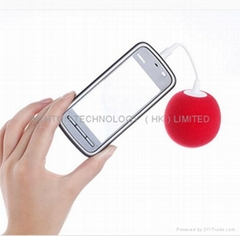 low price good quality promotion promotional gift mini balloon speaker for mp3
