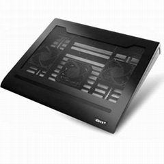iDock C2 3 fans notebook cooler pad with 4 ports usb hub