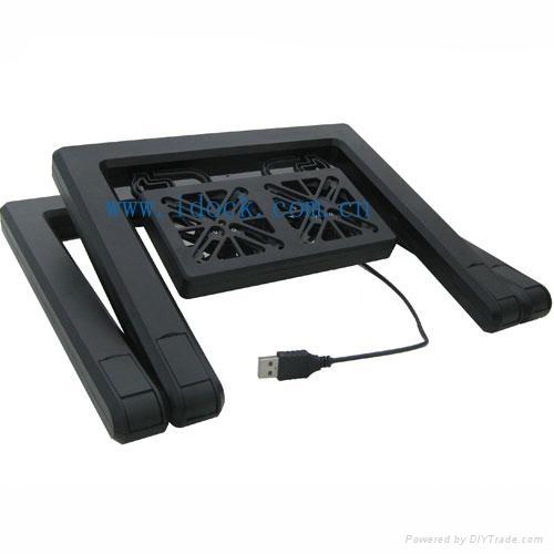 iDock X1 duplex option laptop cooler with usb 1