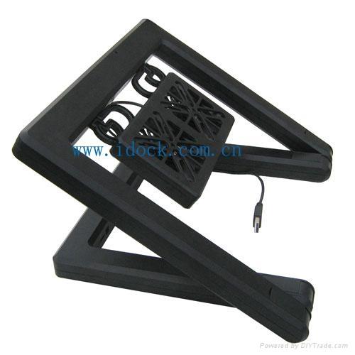 iDock X1 duplex option laptop cooler with usb 2