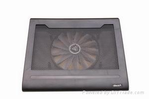 iDock C4 big fan laptop cooler pad with usb 2