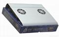 iDock C5 aluminum notebook cooler pad with usb 3
