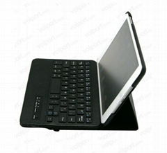 Removable 360 Rotating Bluetooth Wireless Keyboard Leather Case for iPad Mini