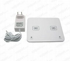 2013 Newest 2 in 1 Wireless Charger For Mobile Phone
