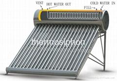 thermosiphon solar water heater