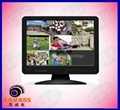 LCD DVR 15 inch security standalond