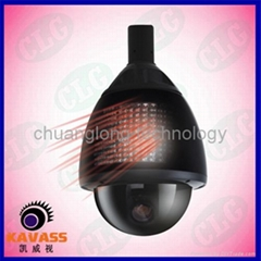 IR Medium Speed dome camera  PTZ camera zoom camera
