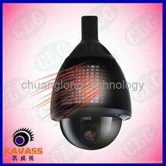 IR Medium Speed dome camera  PTZ camera zoom camera
