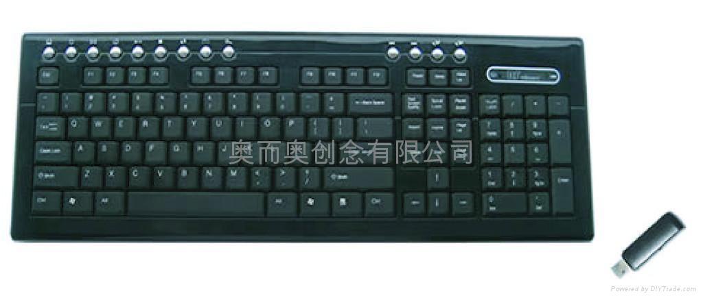 無線鍵盤 2