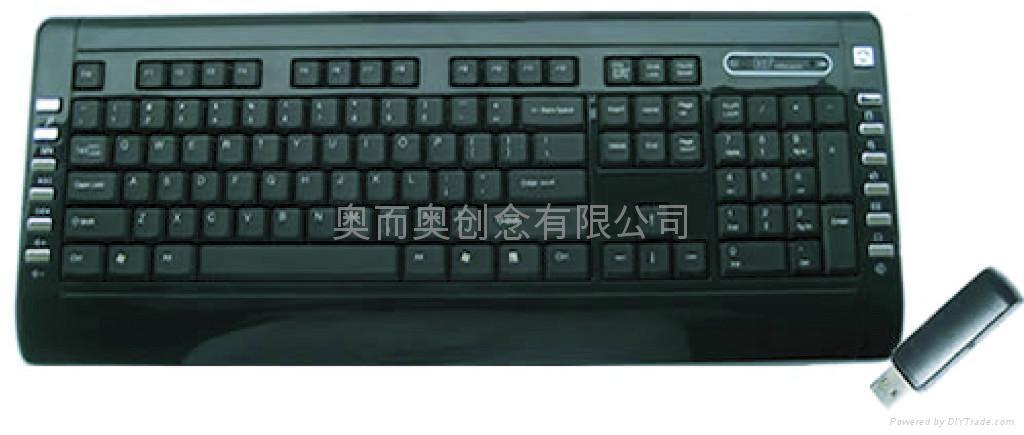 無線鍵盤 4