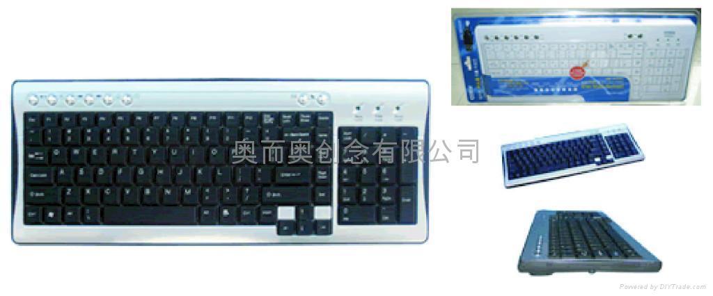 無線鍵盤 5