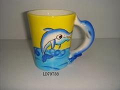 ceramic cup/ashtray/ balneary sets