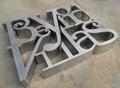 杭州銅字工廠精品銅字製作安裝 1
