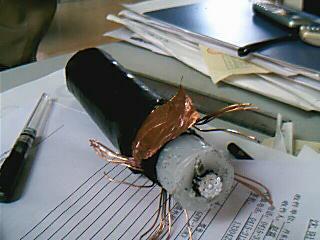 Electrostatic precipitator high voltage DC cables 4