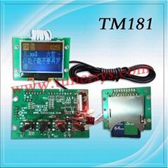中英文顯示 MP3模塊 TM181