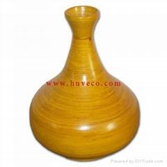Handmade Bamboo Vases