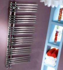 polished laddy towel rails