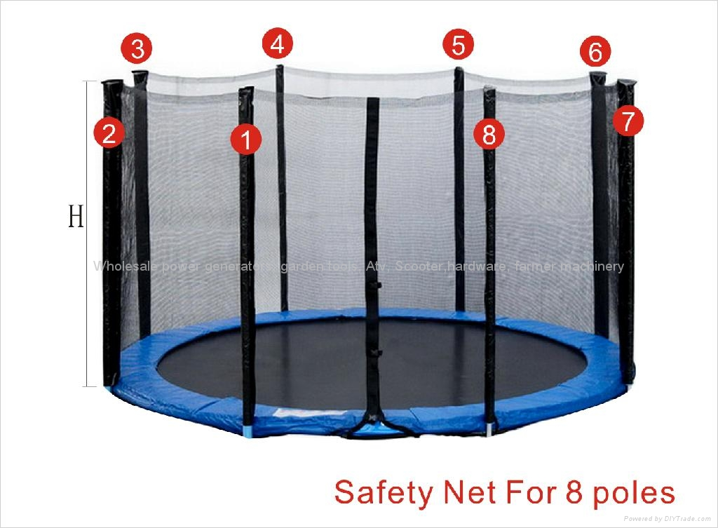 Trampoline 13FT Safety Net 1