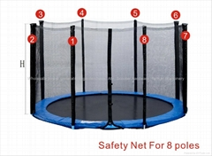 Trampoline 13FT Safety Net