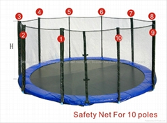 Trampoline 14FT Safety Net