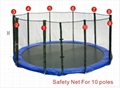 Trampoline 15FT Safety Net