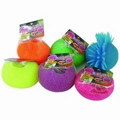 5510 WITH LIGHT PUFFER - ZORB BALL -pu stress balls - puffer balls