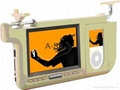 """7"""" TFT LCD Multimedia player with SD / USB / iPod 1"""
