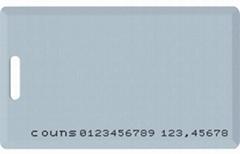 RFID 125Khz Clamshell Card