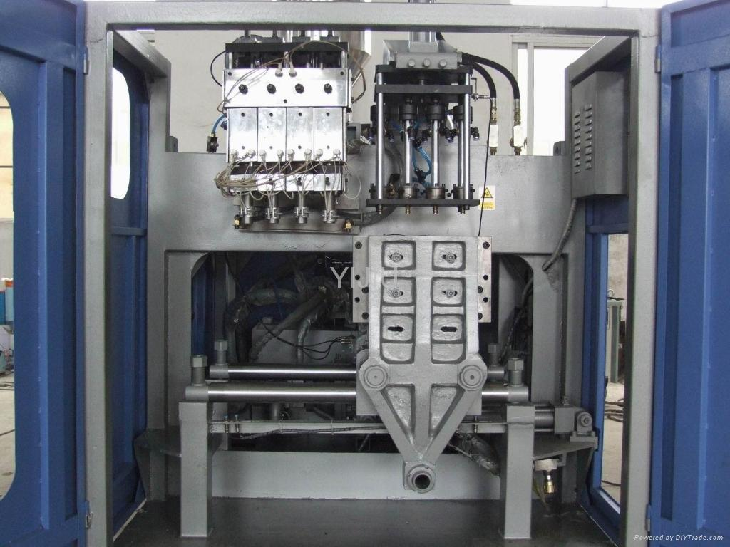 Extrusion blow moulding machine pe pp kettles containers for Advanced molding and decoration