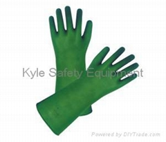 Acid (alkali)-resistant Rubber Gloves