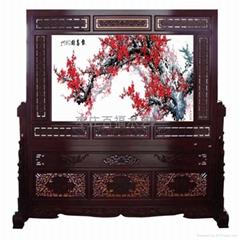 中式屏風圖片