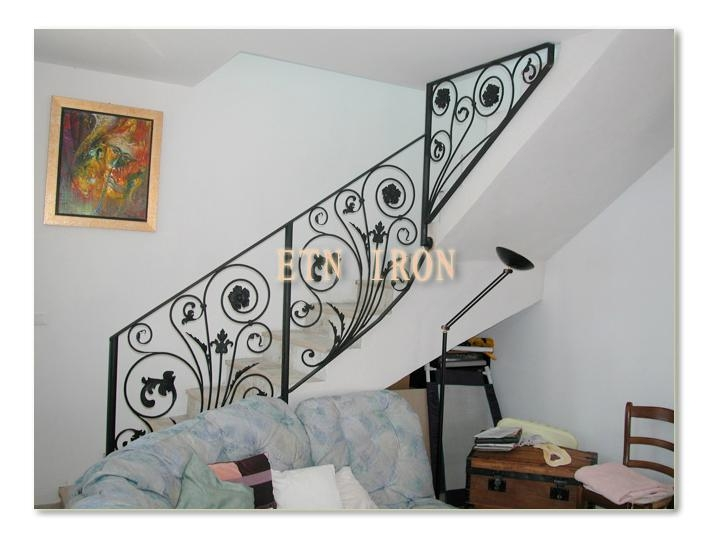 wrought iron stair railing etn r024 china manufacturer
