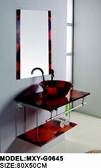Glass wash basin(G0645)
