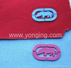 logo on cloth,embossing