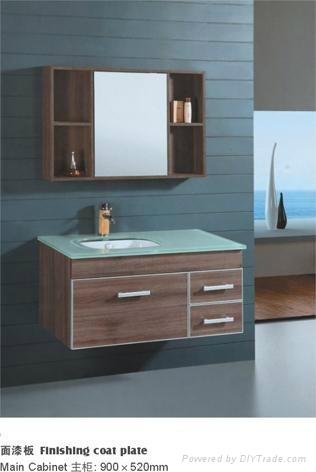 bathroom sink cabinet on Bathroom Cabinet Glass Sink Ceramic Sink Bathroom Furniture   Vtc3333