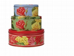Cake Tin Box Set