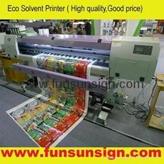 1440dpi ECO Solvent Printer ( two Epson DX5 head )
