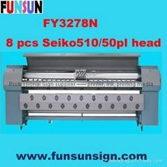 FY3278N Solvent Printer ( Seiko SPT510/50PL head, Hign speed)