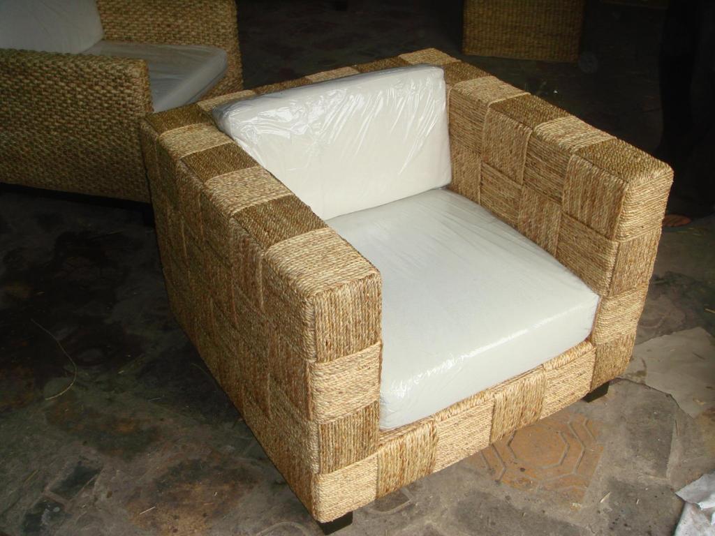 Water Hyacinth Furniture Sofa 011 1