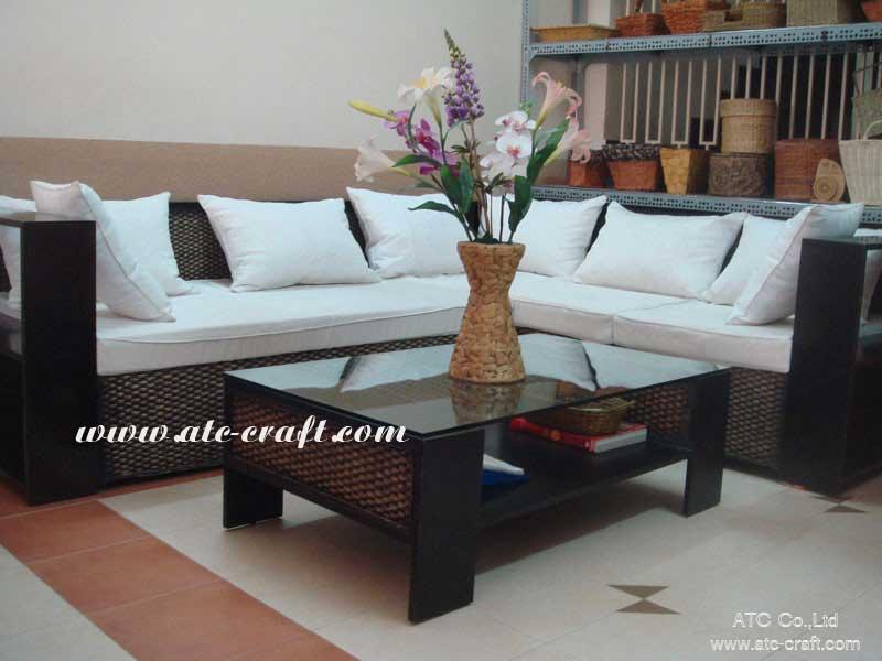 Sensational Water Hyacinth Sofa Set Wais 070 Vietnam Manufacturer Ncnpc Chair Design For Home Ncnpcorg