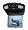 Car TFT LCD Monitor With Clock Auto Video Consumer Electronics 1