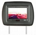 Car TFT LCD Headrest Monitor Auto Video