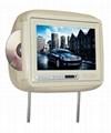 Car TFT LCD Headrest DVD Player Car