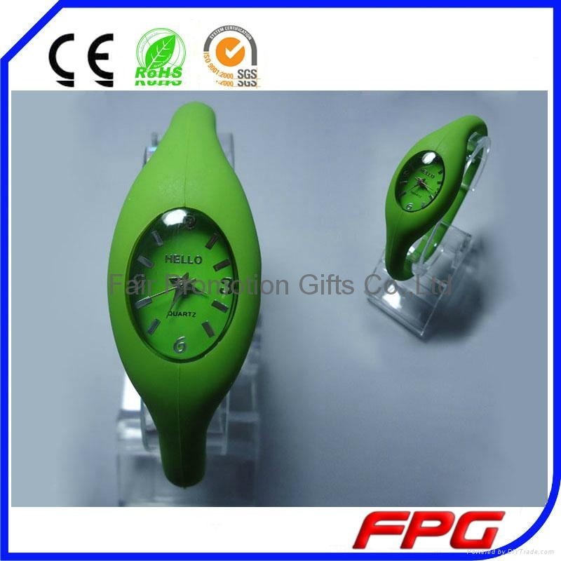 Quartz Silicone Negative Ion  Watch