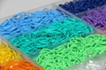 rainbow loom rubber bands for bracelet