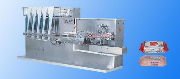 High Speed Automatic Baby Wet Wipe Machine 1