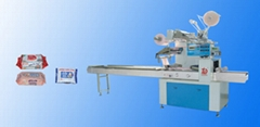 Full Automatic Wet Wipes / Tissue / Towel Packing Machine